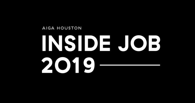 A One-day Conference for In-house Design: Inside Job 2019