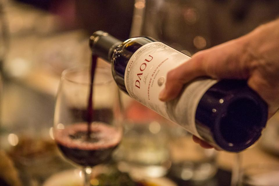 DAOU Wine Dinner with Master Sommelier Fred Dame shows by Quattro Restaurant