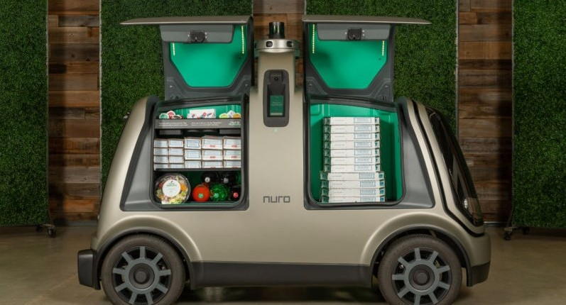 Domino's will begin robot pizza conveyances in Houston this year
