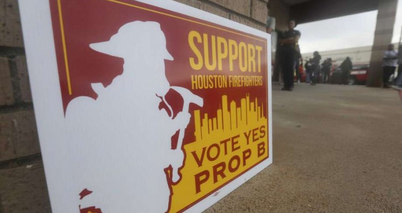 Houston City board authoritatively cancels fireman Prop B cutbacks, downgrades