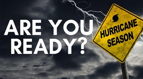 Houston it's Hurricane Season – Your Preparation Emergency List