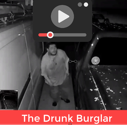 Houston Drunk Burglar Strikes Again – July 1st 2019