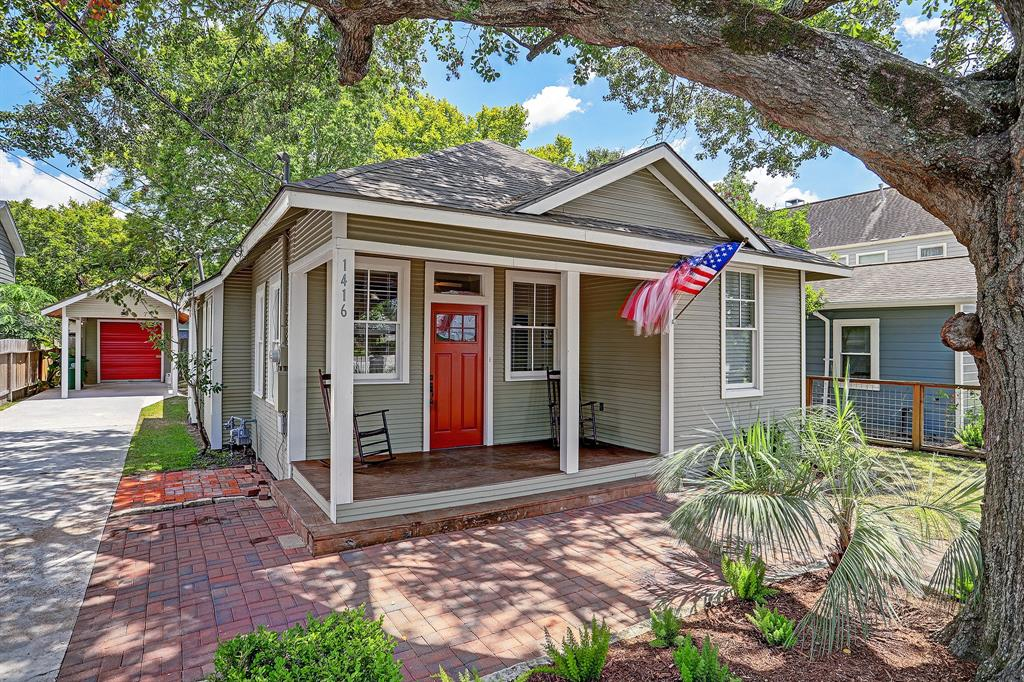 1416 Street Alexander Houston Texas 77008 for only  $475000 with 2 baths / 3 bedrooms - Single-Family