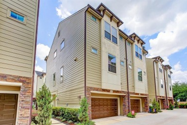 2413 Street Beall Houston Texas 77008 for only  $359900 with 3.1 baths / 3 bedrooms - Townhouse/Condo