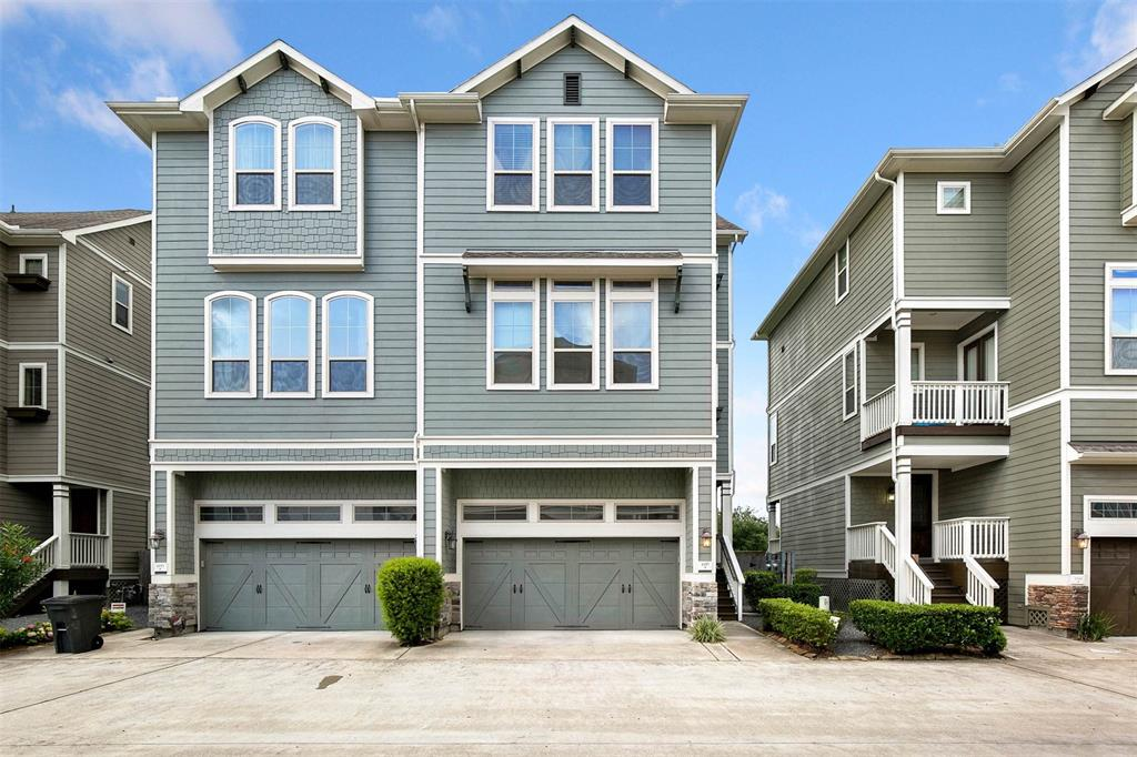 1157 Lane Beasley Hills Houston Texas 77008 for only  $360500 with 3.1 baths / 3 bedrooms - Townhouse/Condo