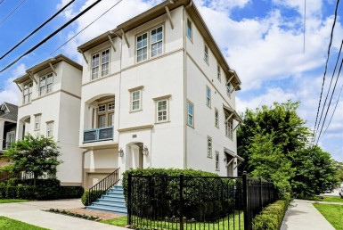 1539 Street Beall Houston Texas 77008 for only  $469500 with 3.1 baths / 3 bedrooms - Townhouse/Condo