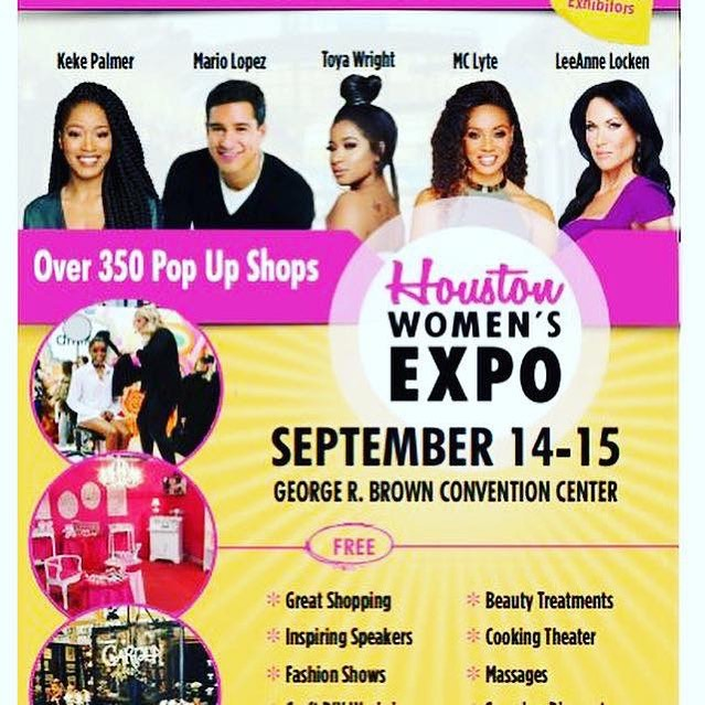 Houston Women EXPO – This Weekend – Saturday & Sunday