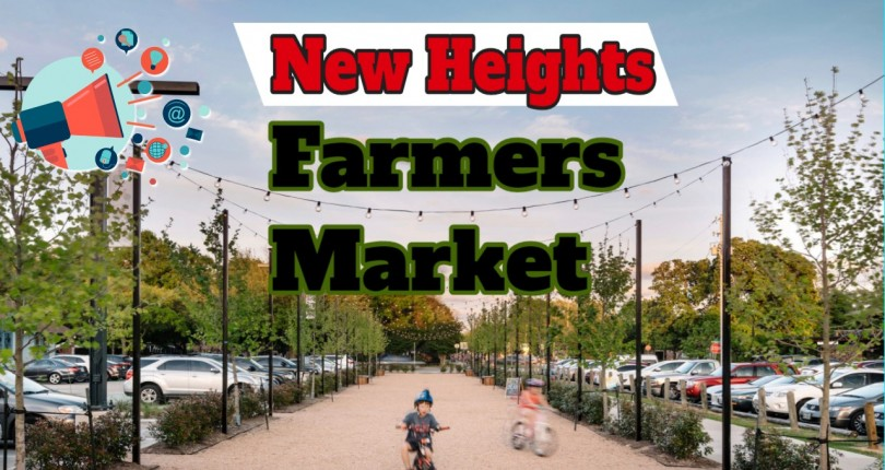 New Houston Farmers Market in Heights