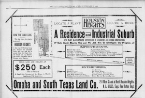 Mapping Houston Heights real estate