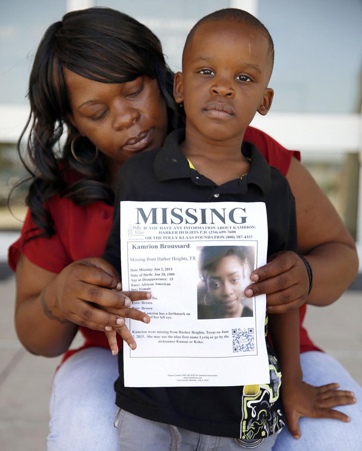 Lakeesha Edwards, mother of Kamrion Broussard, girl missing in Houston 2015