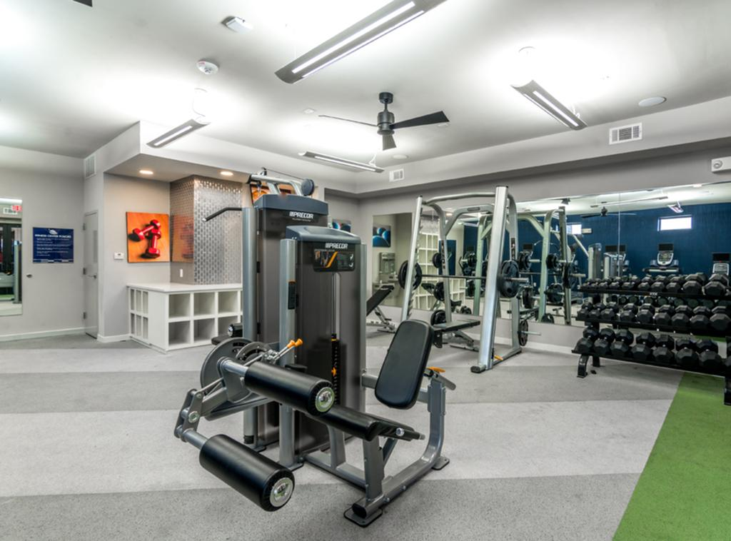 gym in Student Housing in Houston